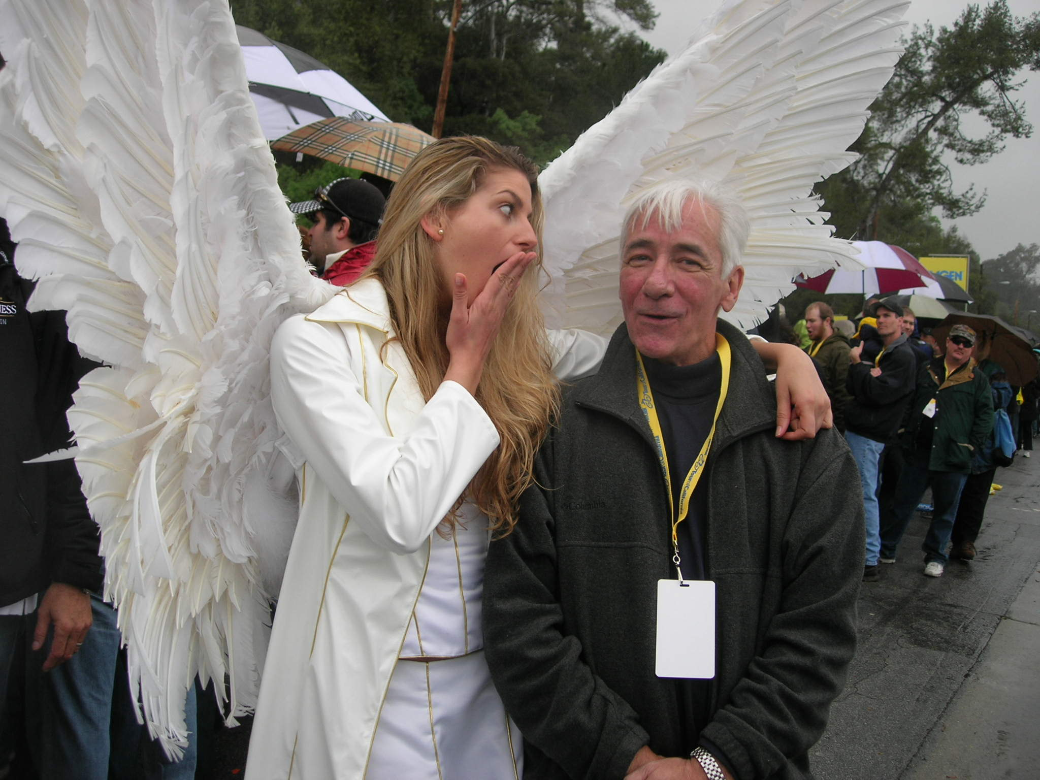 Dennis with Angel